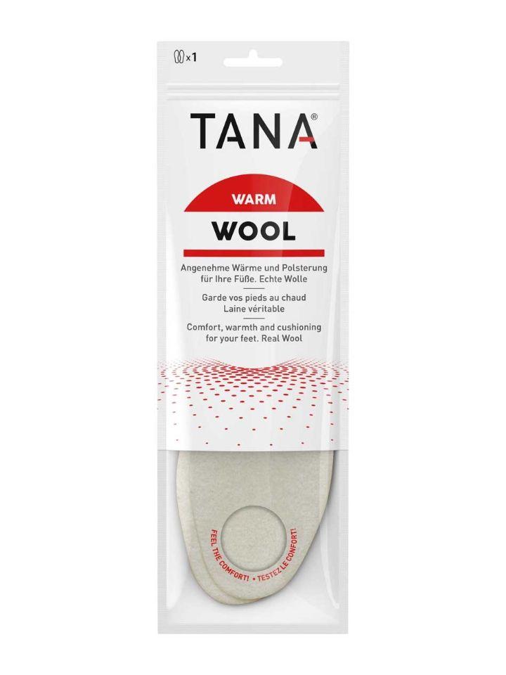 Woll-Einlegesohle, VE: 5 Paar/Größe